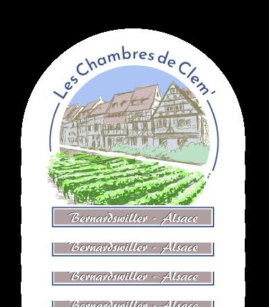 Logotype Les Chambres de Clem - Bernardswiller Alsace