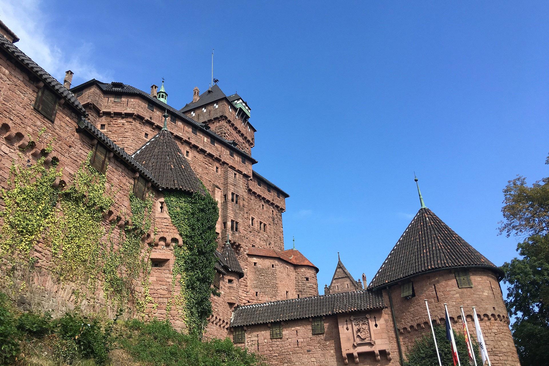 Château de Haut Koenigsbourg - Les Chambres de Clem'