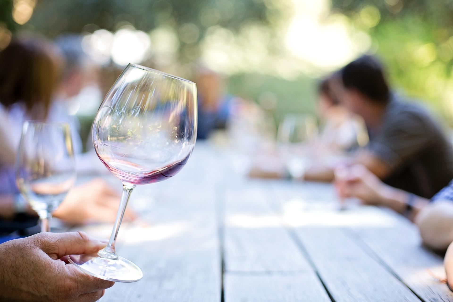 Dégustation de vin - Les Chambres de Clem'