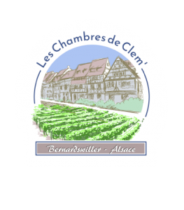 Logotype Les Chambres de Clem' - Bernardswiller - Alsace